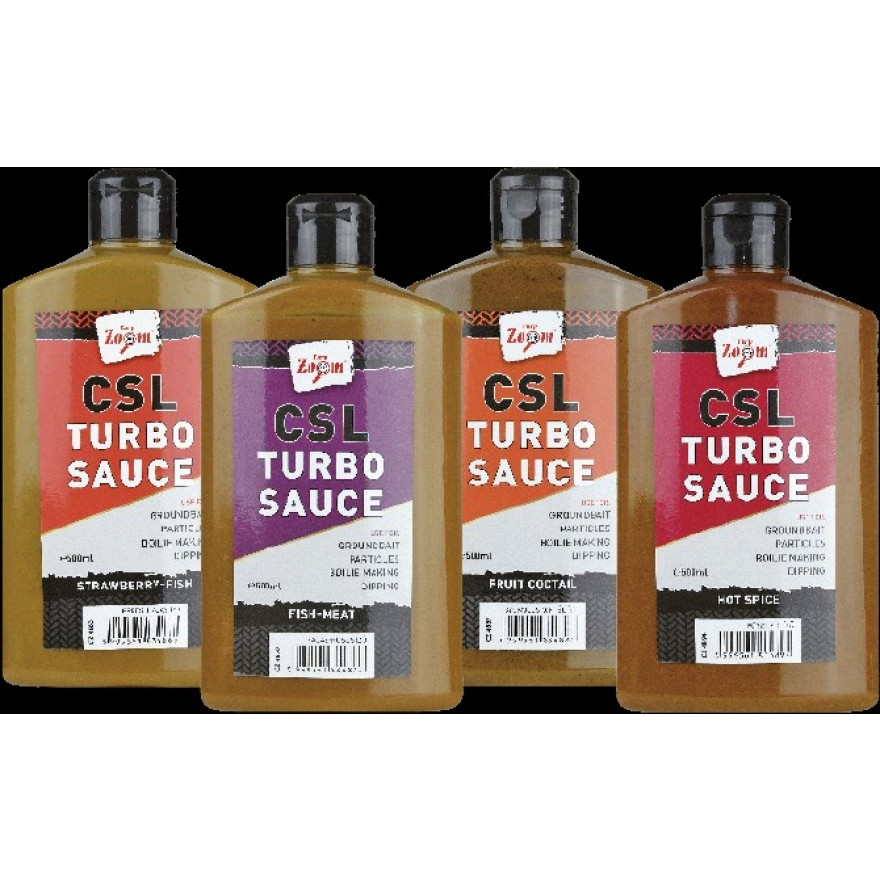 Carp Zoom CSL Turbo Sauce Hot Spice 500ml