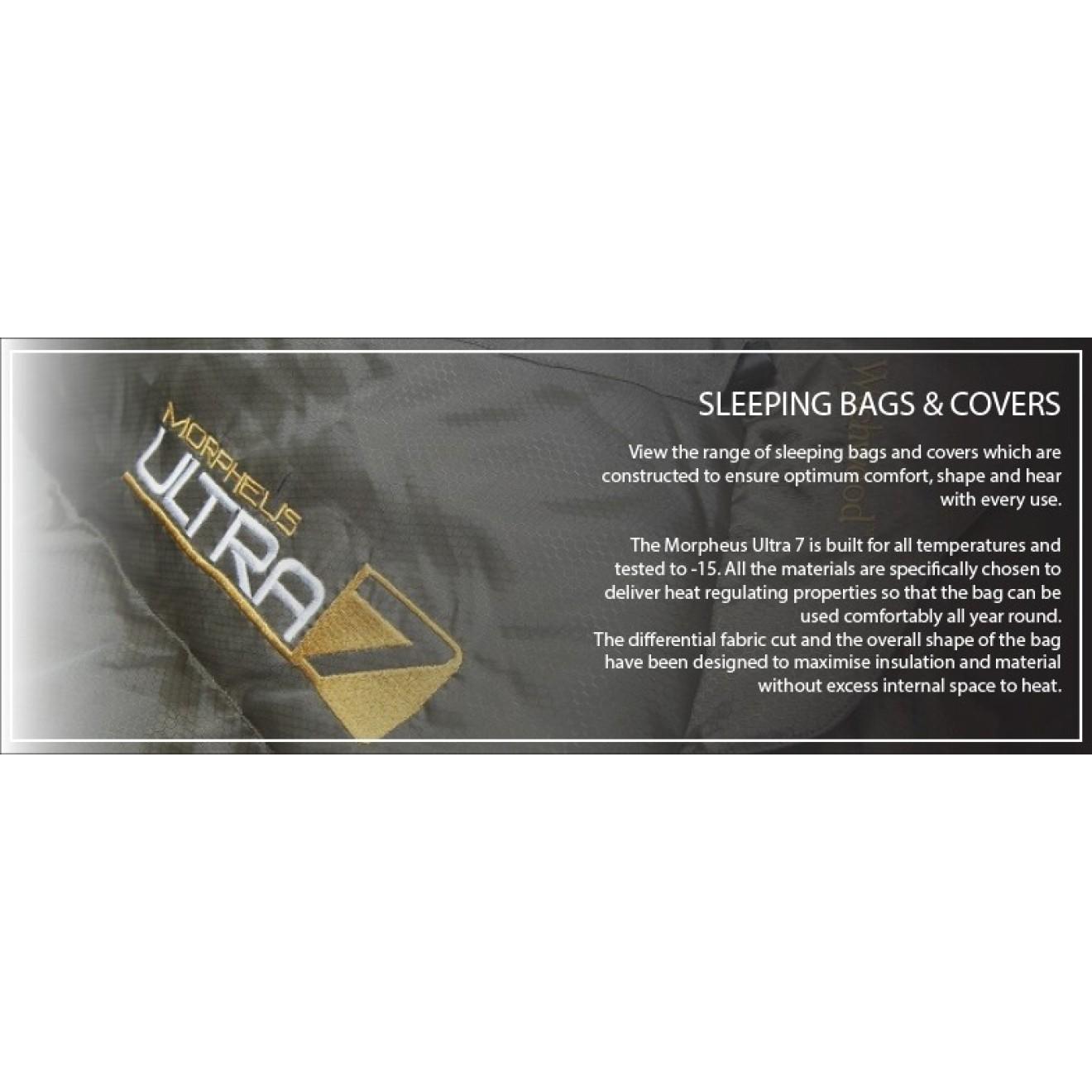 Wychwood Morpheus ULTRA 7 Sleeping Bag, Carphunter&Co Shop ...