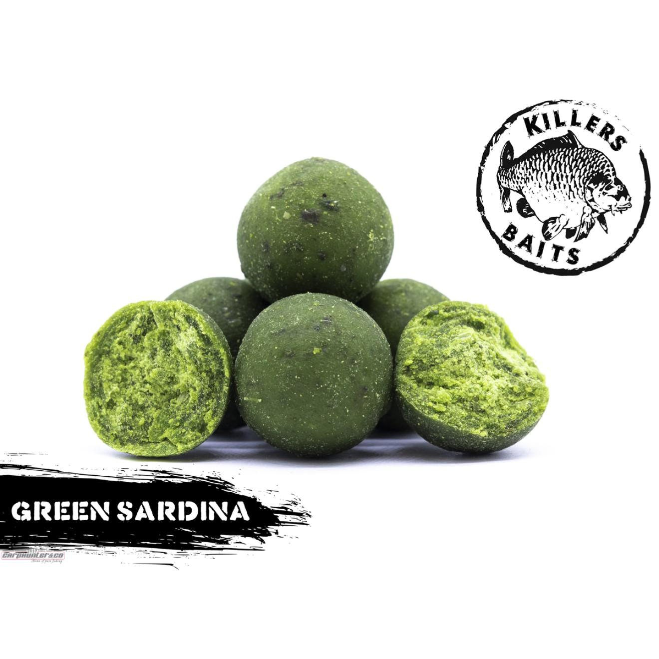 1kg Carp Killer Green Sardina 20mm