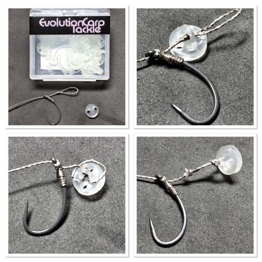 Evolution Carp Tackle Bait Clip Glow