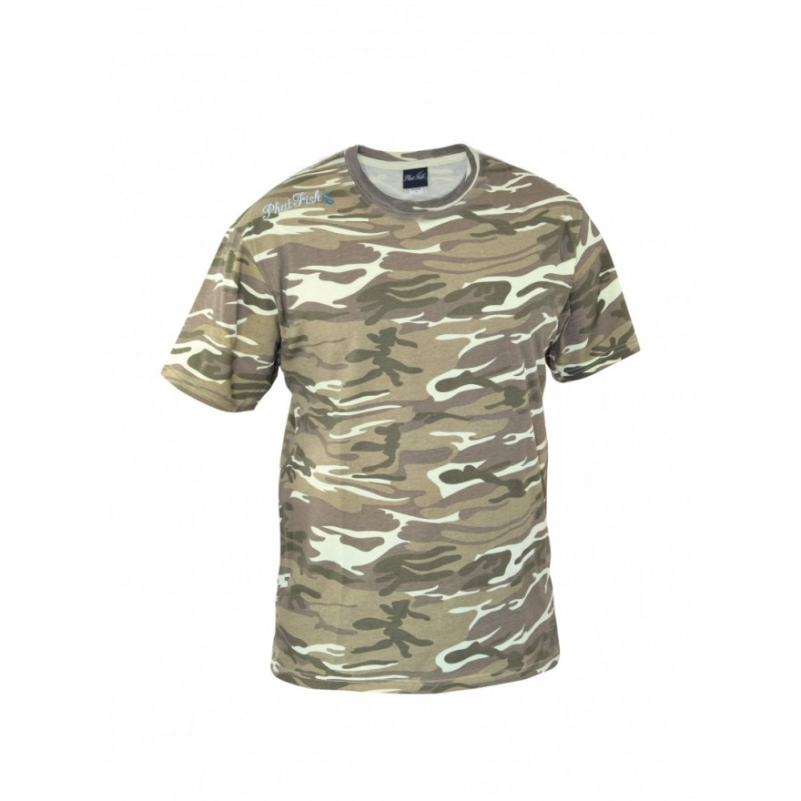 Phat Fish Summer CAMO T-Shirt XL