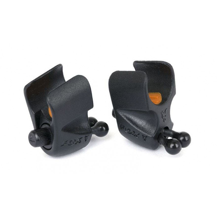 Fox Black Label Adjustable Line Clips 2stk