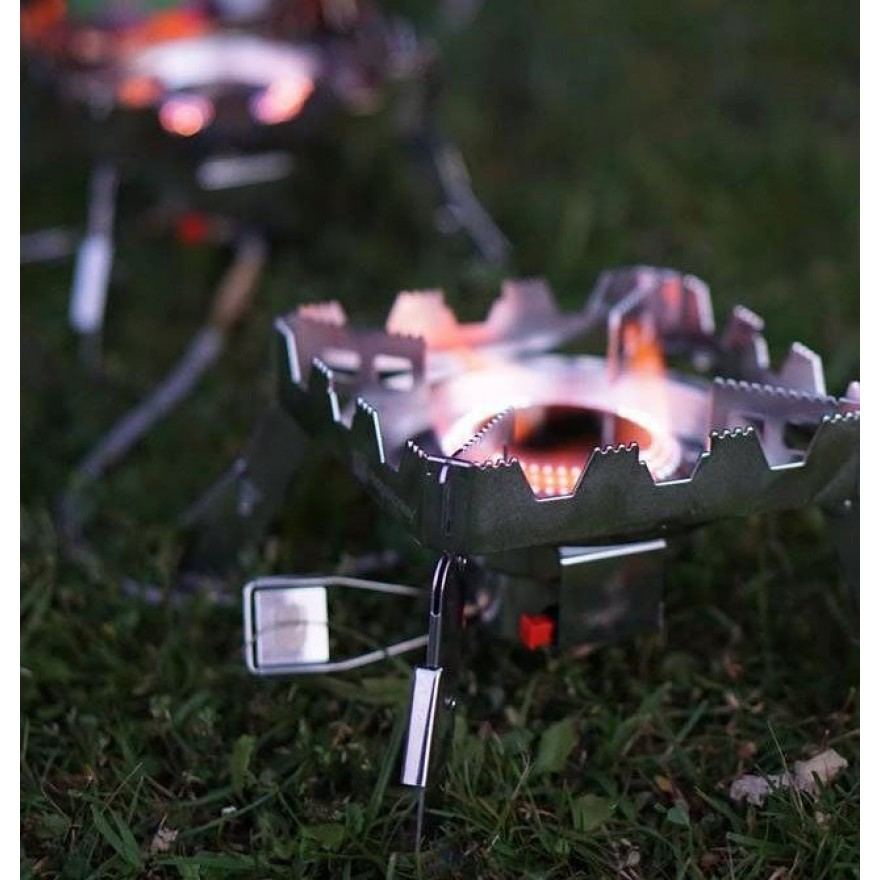 RidgeMonkey Quad Connect Stove Full Kit