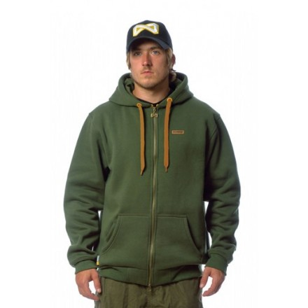 Navitas Low Key Zip Hoody Green XXL