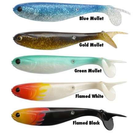 Black Cat Mullet Shad 18cm Blue