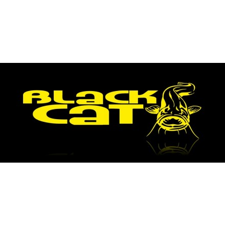 Black Cat Curved Point Treble Hook 1