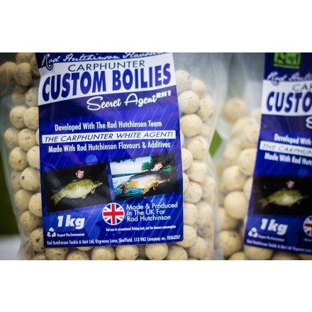 Rod Hutchinson White Agent Custom Boilies 15mm 1kg