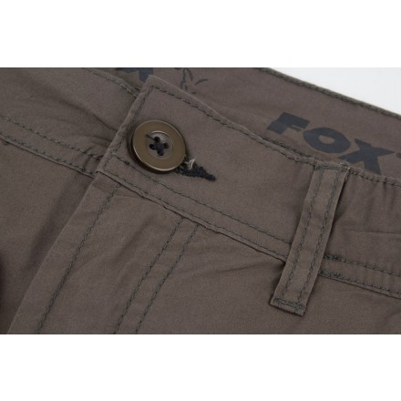 Fox Green Black Lightweight Cargo Shorts Gr.XL