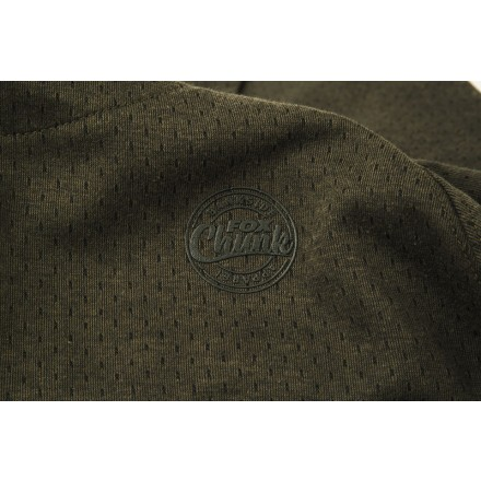 Fox Chunk Dark Olive Quarter Zip Hoody XXLarge