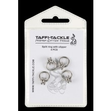 Taffi Tackle Split ring with Slipper