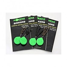 Korda Sinkers Large Gravel Brown