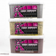 Mainline High Impact Groundbait Activated Nut Mix 2kg Bucket