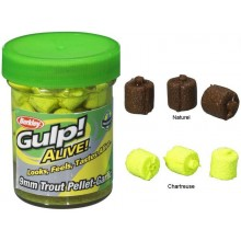 Berkley Gulp Alive Trout Feed Pellet 9mm Natural Halibut