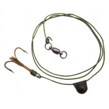 Black Cat Treble Bait Fish Rig Gr.2/0 100kg