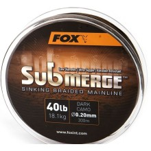 Fox Submerge Sinking Braided Mainline 40lb, 0,20mm 600m
