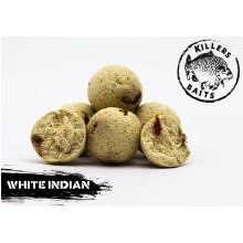 Carpkillers Boilie White Indians Diffy Size 16,20,24mm 3,5kg