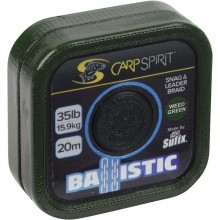 Carp Spirit Ballistic Snag& Leader Braid 35lb Green