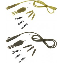 Carp Spirit Anti-Tangle Lead Clip Rigs Weed Green
