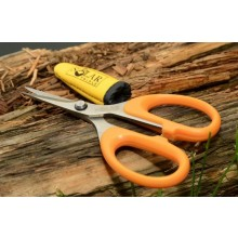 Solar Tackle Serrated Braid Scissors
