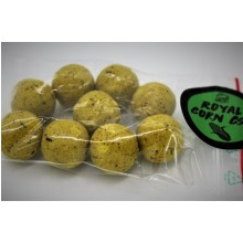 WATERCRAFT Boilies Royal Corn CSL V2 PROBEPACKUNG